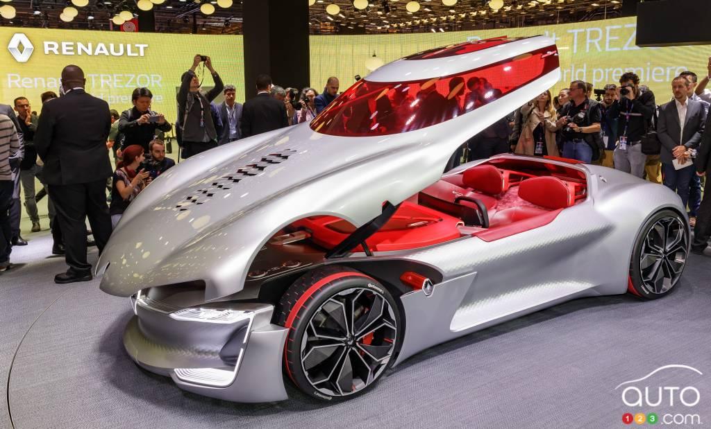 Renault Unveils Trezor Electric Car Concept In Paris Car News Auto123