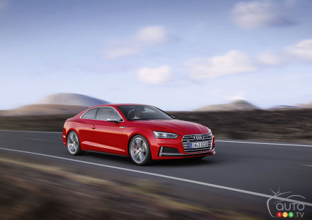 The Audi S5 Coupe