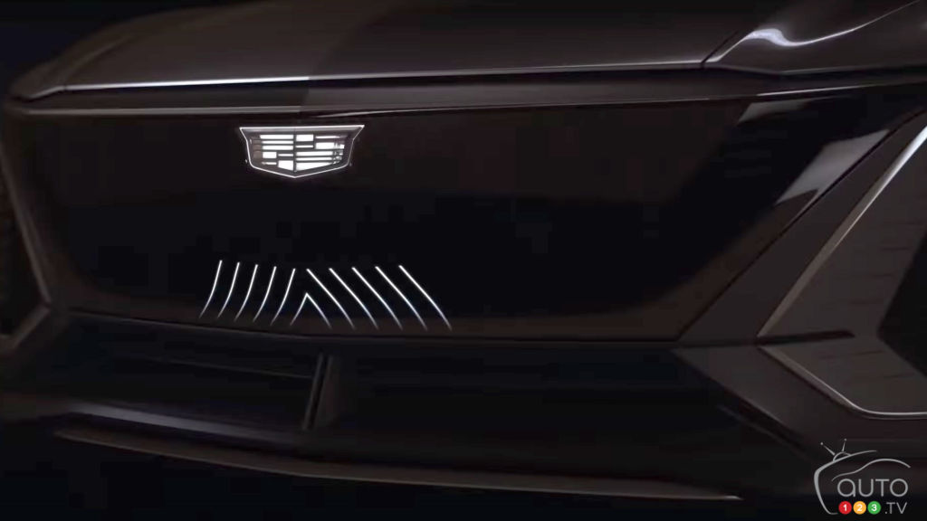 Cadillac Lyriq, avant