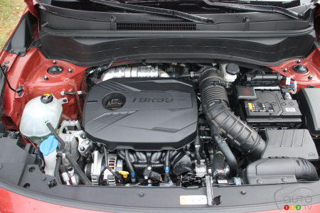 2021 Kia Seltos, turbo engine