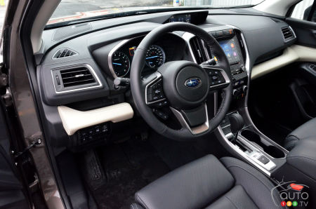 2021 Subaru Ascent, interior