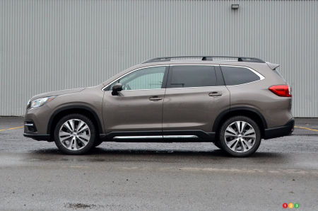 2021 Subaru Ascent, profile