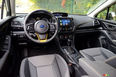 2021 Subaru Crosstrek Outdoor, interior