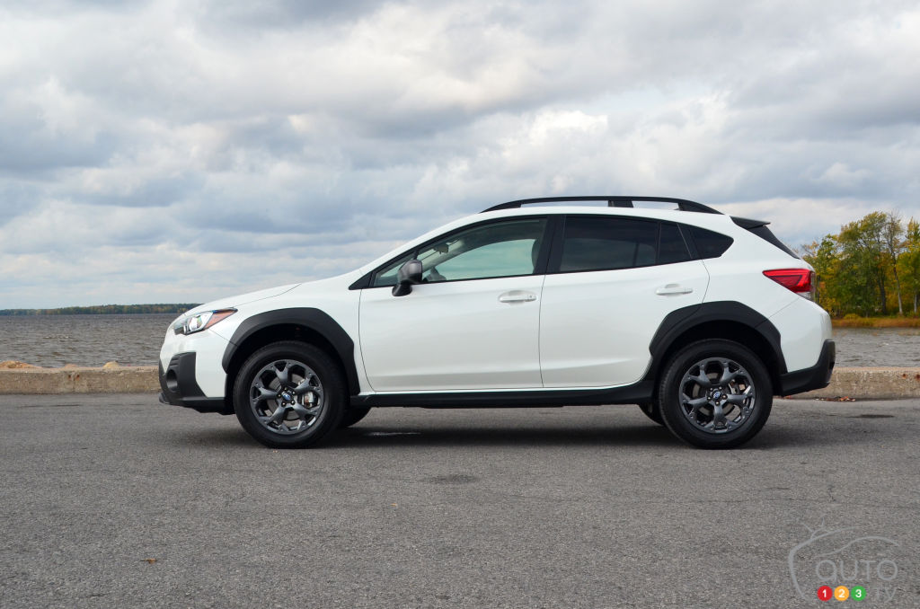 Subaru Crosstrek Outdoor 2021, profil