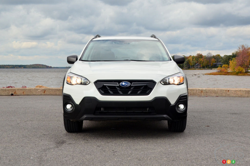 Subaru Crosstrek Outdoor 2021, avant