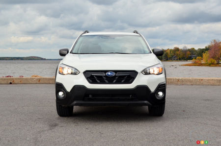 2021 Subaru Crosstrek Outdoor, front