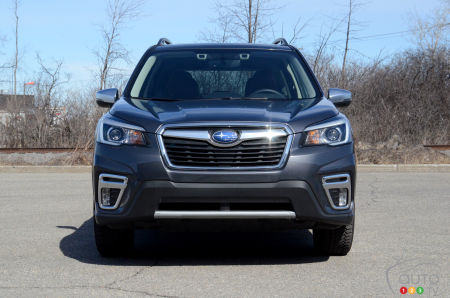 2020 Subaru Forester, front