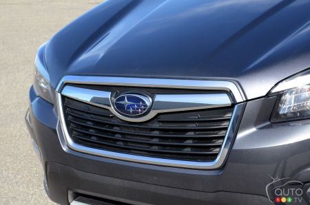 2020 Subaru Forester, grille