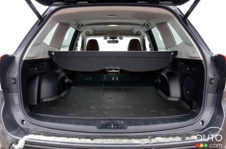 2020 Subaru Forester, trunk