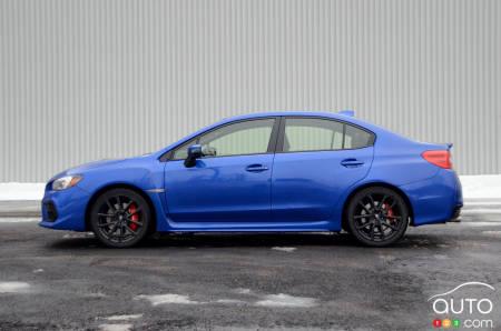 2020 Subaru WRX, profile