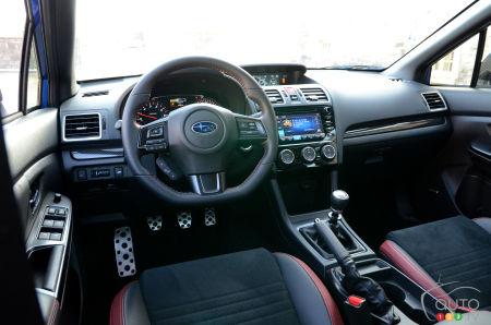 2020 Subaru WRX , steering wheel, multimedia system