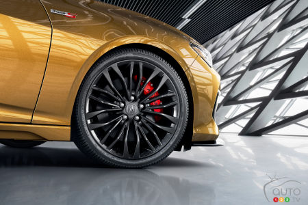2021 Acura TLX Type S, wheel