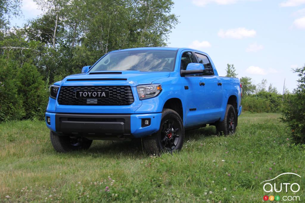 2019 Toyota Tundra Trd Pro Review Car Reviews Auto123