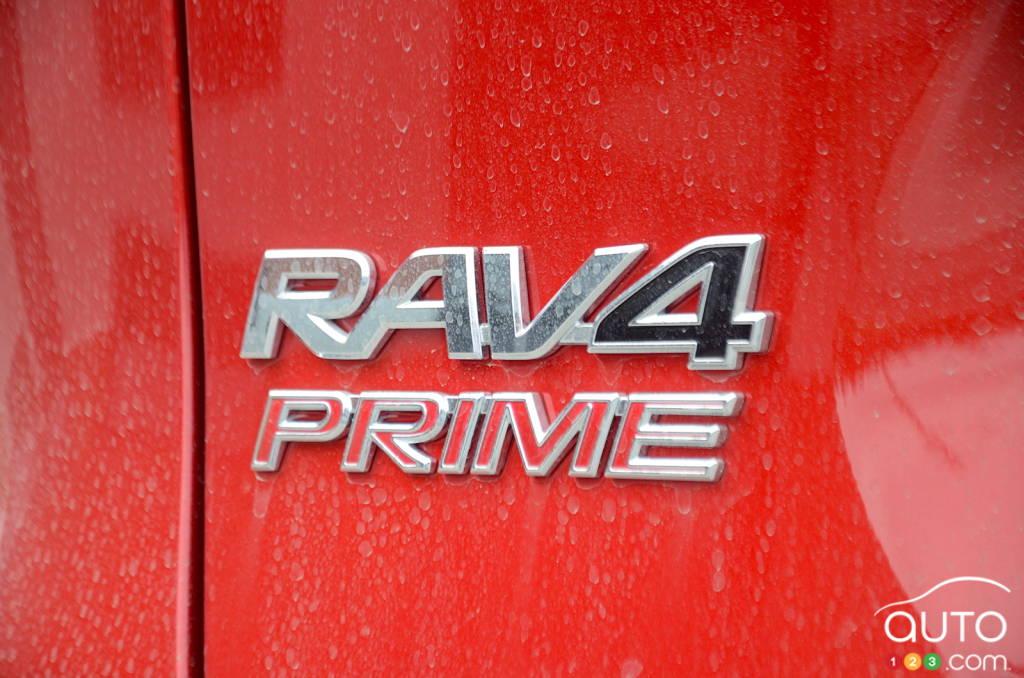 Toyota RAV4 Prime 2021, écusson