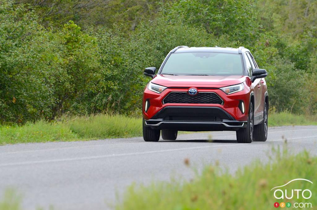 Toyota RAV4 Prime 2021, avant