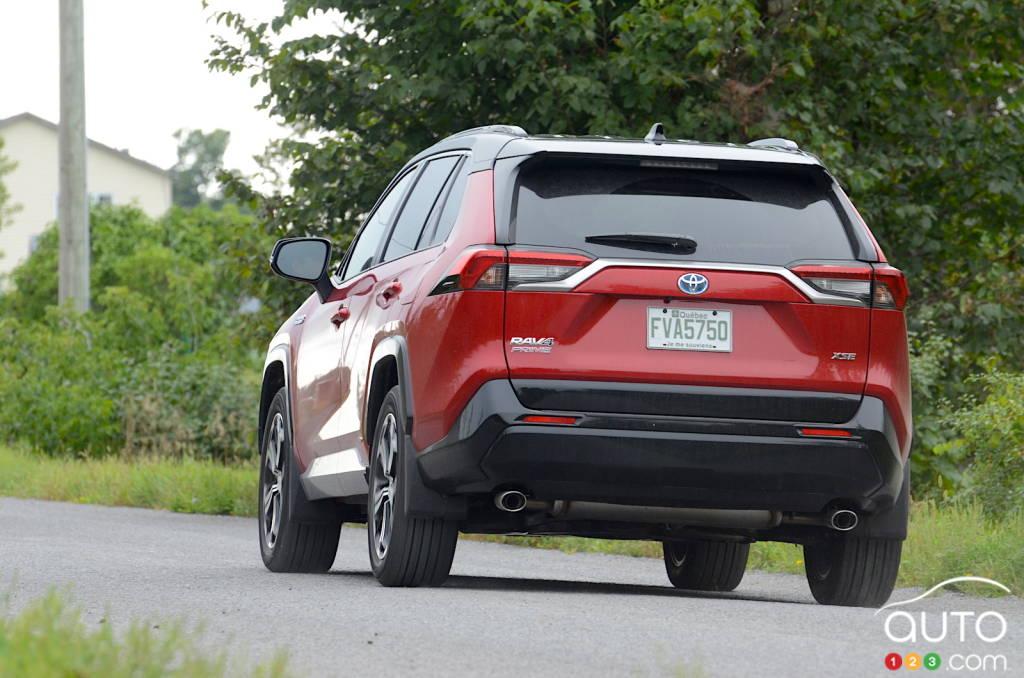Toyota RAV4 Prime 2021, arrière