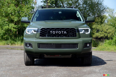 2020 Toyota Sequoia TRD Pro, front