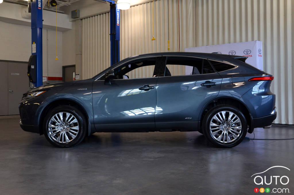 The 2021 Toyota Venza Presented Car News Auto123
