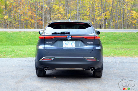 2021 Toyota Venza, rear