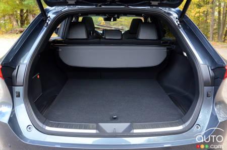 2021 Toyota Venza, trunk