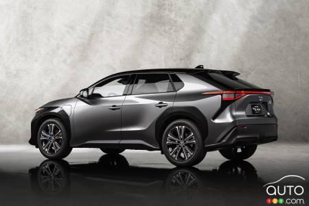 Toyota bZ4X, profile