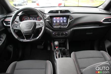 2021 Chevrolet Trailblazer,  interior
