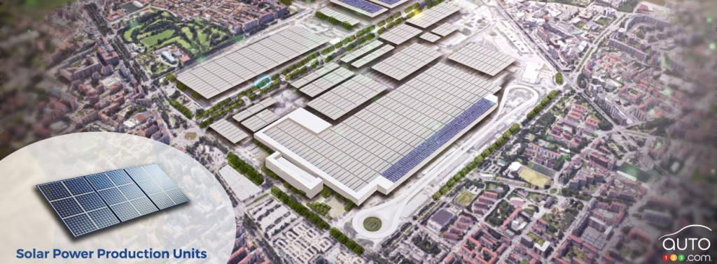 L'usine de Mirafiori de Fiat, en Italie