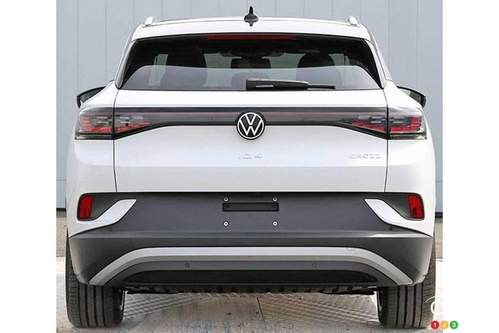 Volkswagen ID.4 2021, arrière