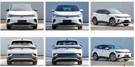 2021 Volkswagen ID.4, from different angles