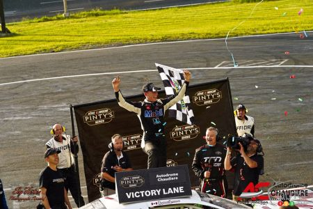 Victory at Chaudiere, NASCAR Pinty's series, June 2019