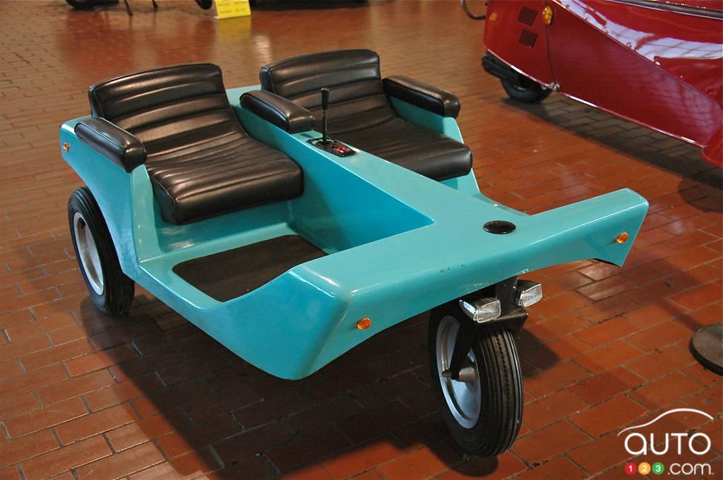 Jarret, la voiture électronique 1969