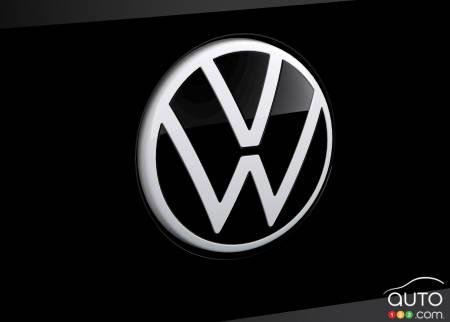 New VW logo