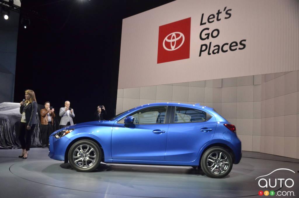 Toyota Yaris 2020, profil