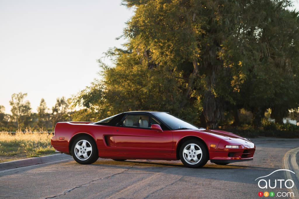 Acura NSX 1991, profil