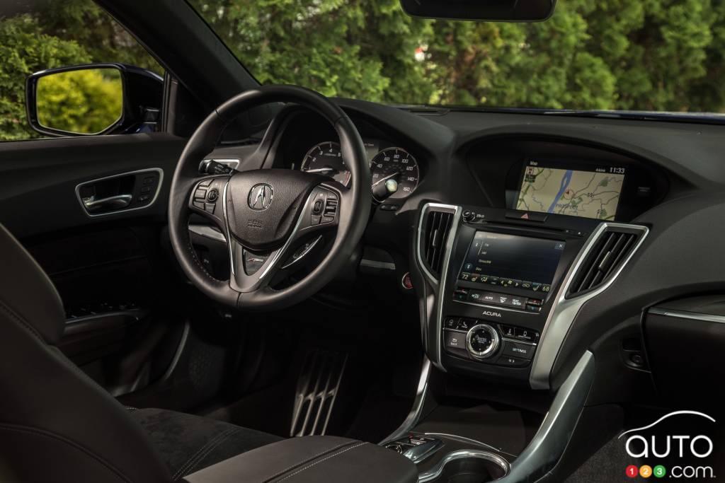 Acura TLX 2020, intérieur