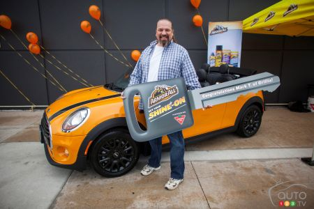 Lucky Winner Wins Mini Thanks To Armor All Car News