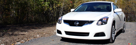 2012 Nissan Altima Coupe 2.5 S Review