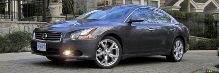 2012 Nissan Maxima 3.5 SV Review