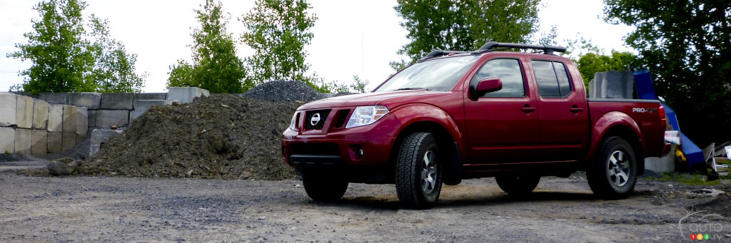 2012 nissan frontier pro 4x 4x4 crew cab car reviews auto123. Black Bedroom Furniture Sets. Home Design Ideas