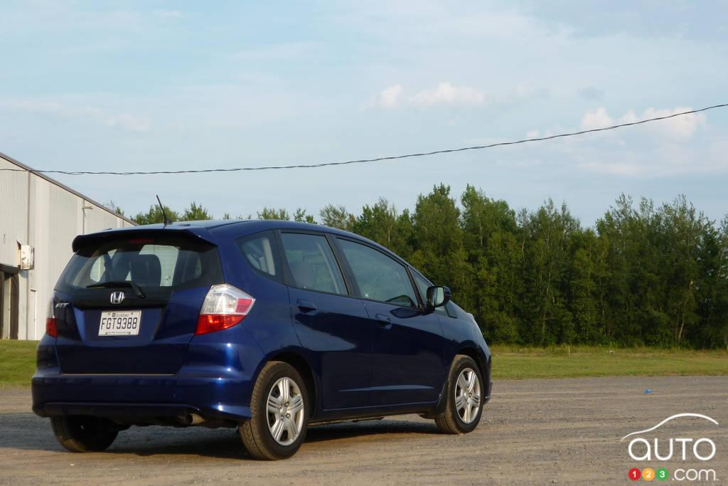 2012 Honda Fit LX Review