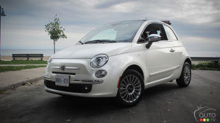 2012 Fiat 500c Lounge Review