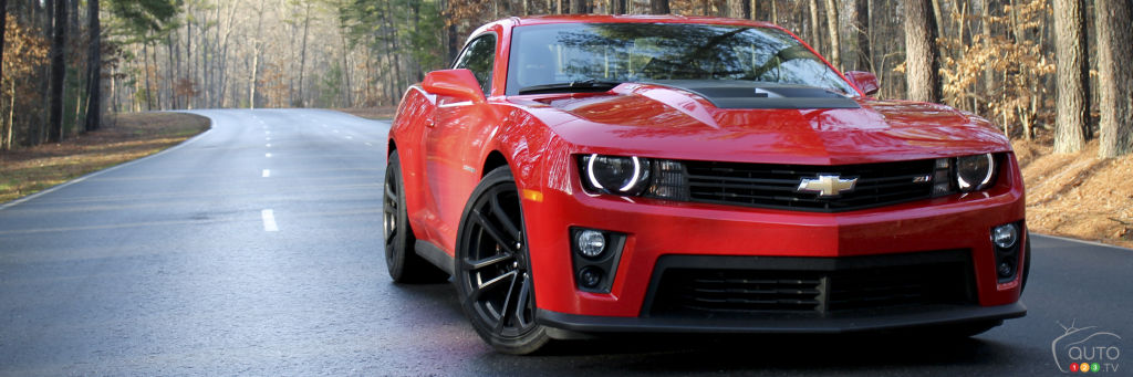 2013 Chevrolet Camaro ZL1 Review