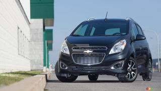 2013 Chevrolet Spark 2LT Review