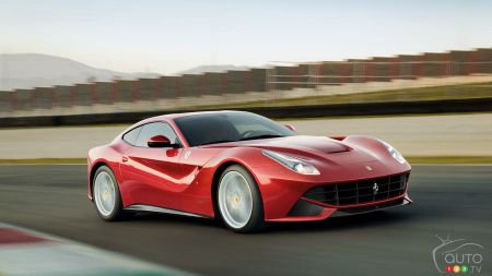 The new Ferrari F12berlinetta