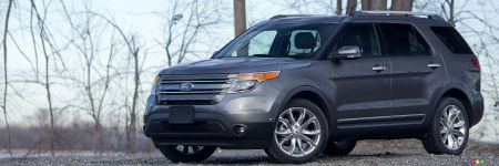 2012 Ford Explorer Limited EcoBoost FWD Review