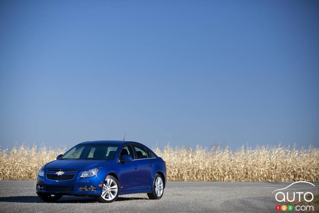 2012 Chevrolet Cruze LT Turbo Review