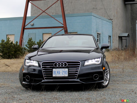 Audi A Reviews From Industry Experts Auto - Audi a7 review