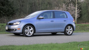 2012 Volkswagen Golf 2.5L Sportline 5-Door Review