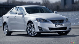 2012 Lexus IS 350 AWD Review