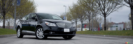 2012 Buick LaCrosse eAssist Review